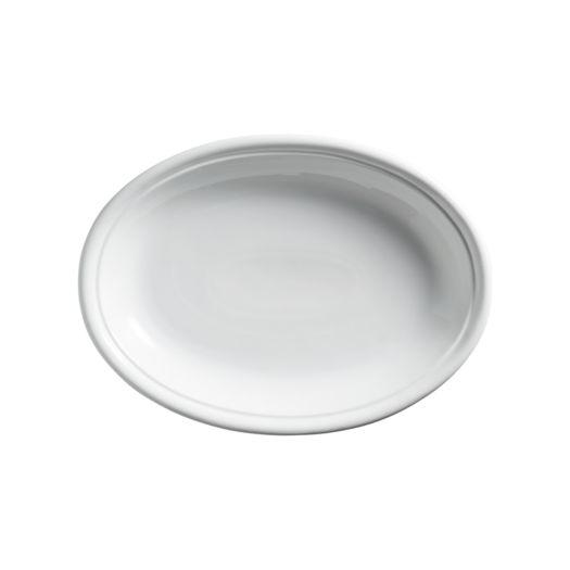 11 x 27 White Oval Platter