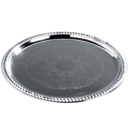 14'' Round Gallery Tray