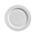 White Round Platter