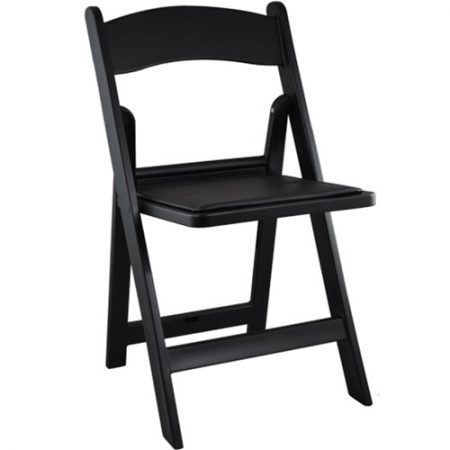Black Wood Folding Chairs