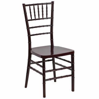 Mahogany Ballroom Chairs