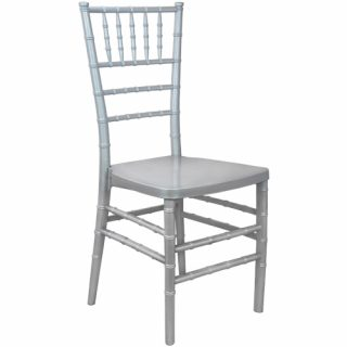 Silver Ballroom Chairs