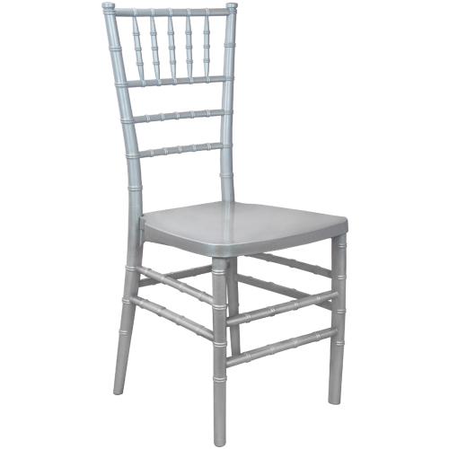 Silver Ballroom Chair