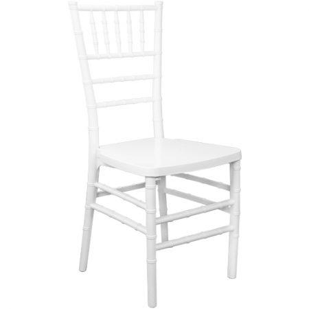 White Ballroom Chairs
