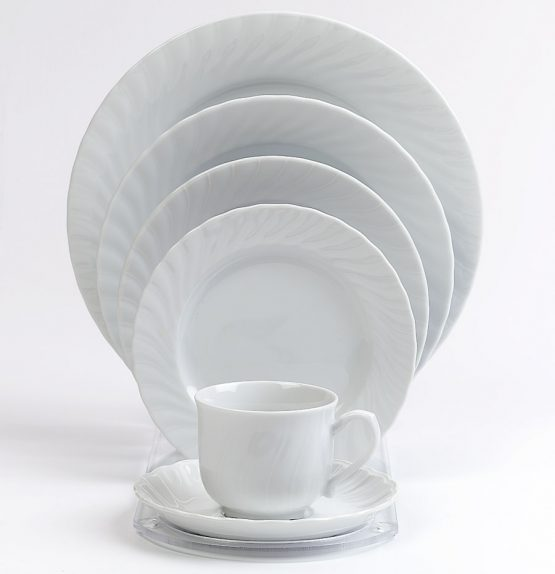 Regina Fine China With Swiss Border