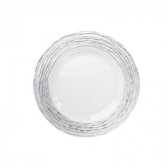Arizona-Silver-Clear-Charger-Plate