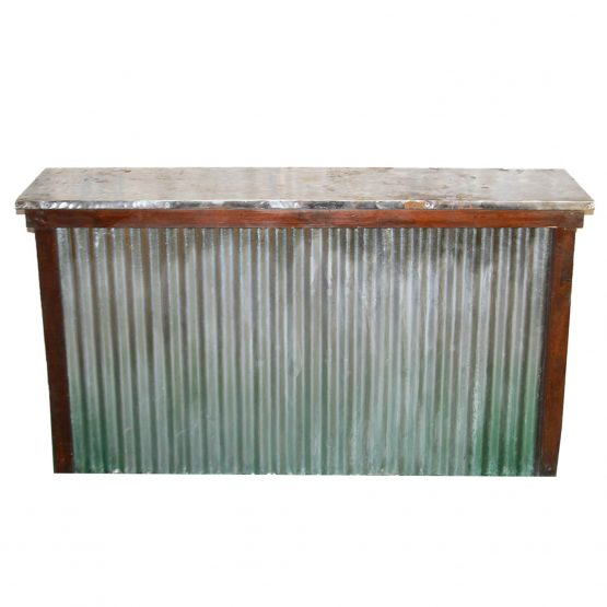 Rustic Galvanized Bar