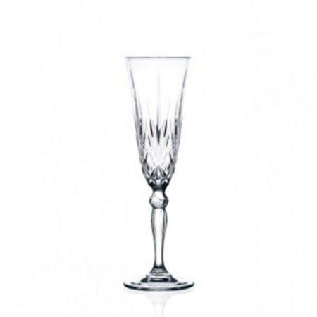 5.5oz Cut Crystal Champagne Flute