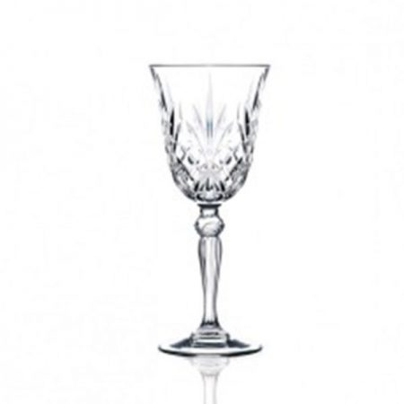 7.25oz Cut Crystal Wine Goblet