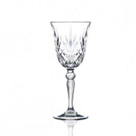 7.25oz Cut Crystal Wine Goblet