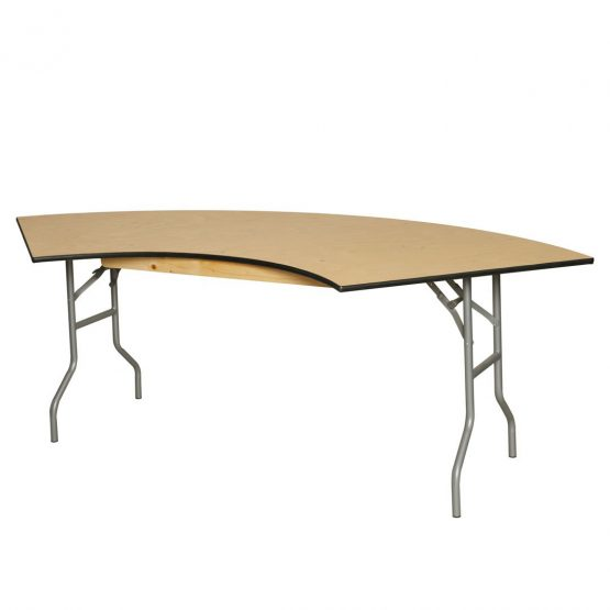 Serpentine Folding Table