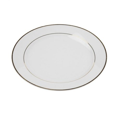 White China With Gold Rim