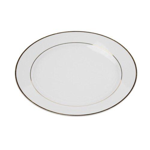 White China With Gold Rim