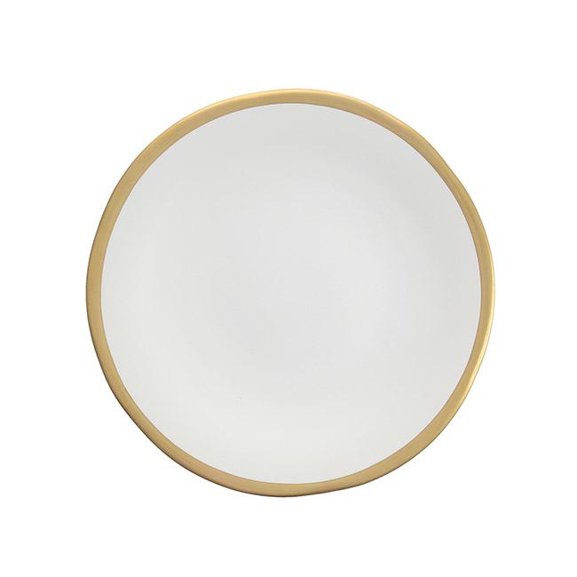 Linen Heirloom Salad Plate