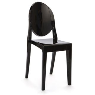 Black Victorian Ghost Chair