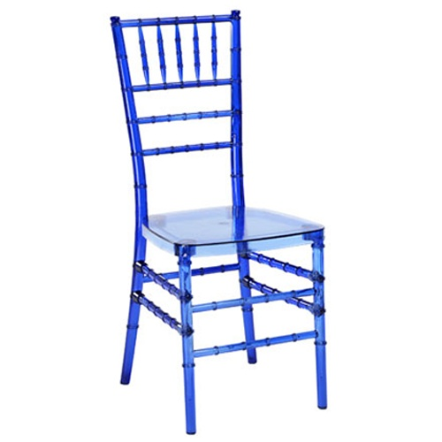 Blue Resin Reception Chairs