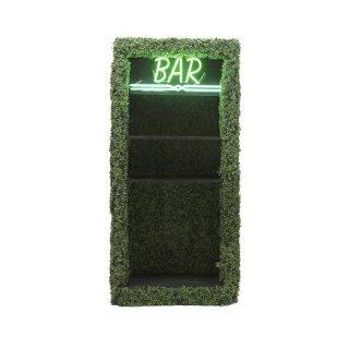 Hedge Back Bar Shelf