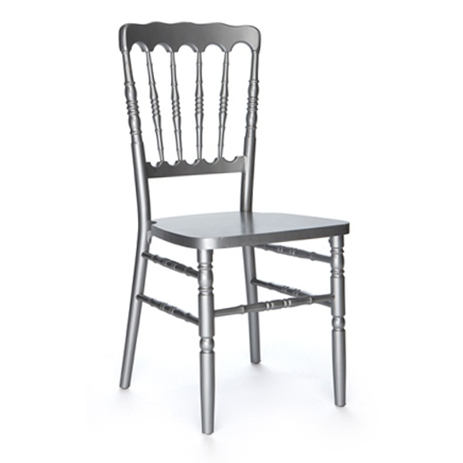 Napoleon Silver Chair