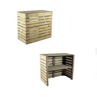 Slotted Wood Bar
