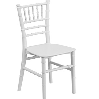 Chiavari Ballroom White Kids Chair