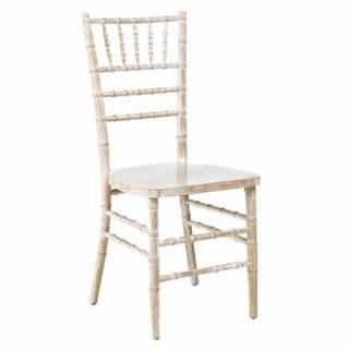 Whitewash Ballroom Chairs