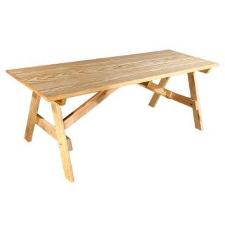 """6' x 36"""" Natural Picnic Table"""