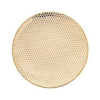 Dottie Gold Salad Plate