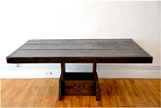 """6' x 36"""" Rustic Dining Table"""