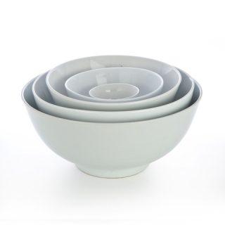 White China Round Bowls
