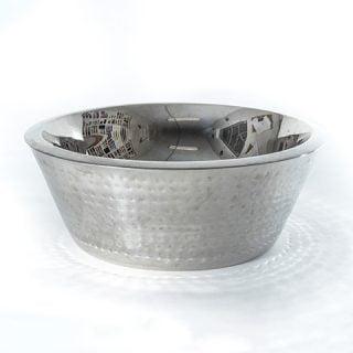 Large Hammered Bowl