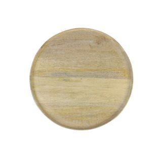 Mango Wood Round Tray